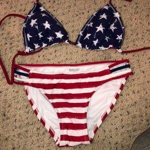 Xhilaration bikini - American Flag